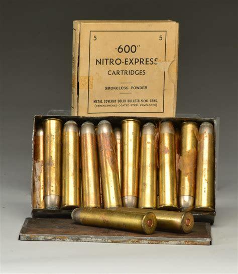 Buy 600 Nitro Express Ammo