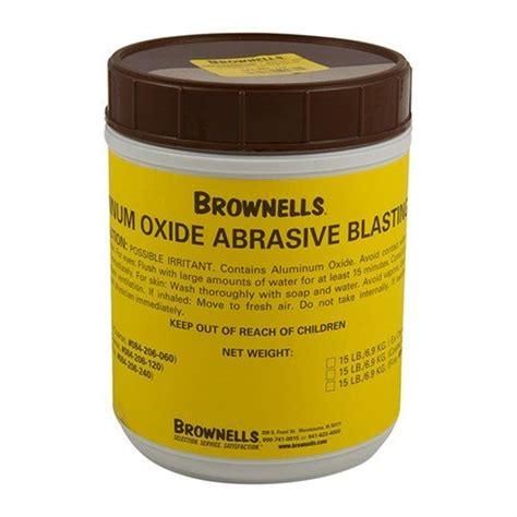 Buy Aluminum Oxide Abrasive Blasting Grit Brownells