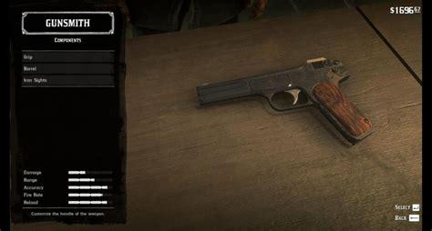 Buy Handgun In Red Dead Redemption