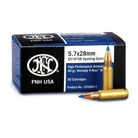Buy Ss197 Sporting Ammo 5 7x28mm 40gr Vmax Federal