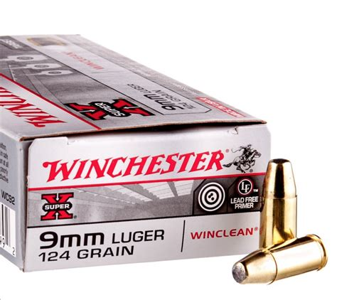 Buy Winchester 9mm Ammo Online