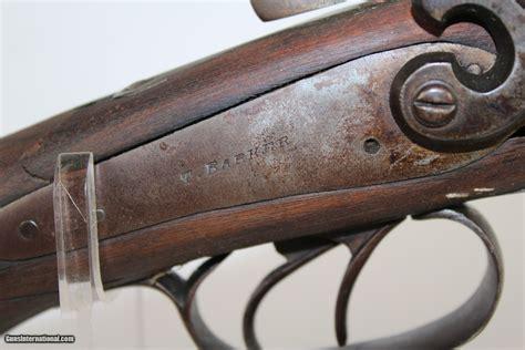 C Barker Double Barrel Shotgun