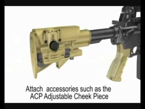 Caa Prfcs Stock Rail This Is A Sniper Buttstock For The A2 Sr25 M16 Tube Size