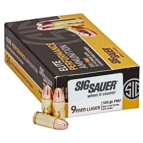 Cabela S Sig Sauer 9mm Ammo