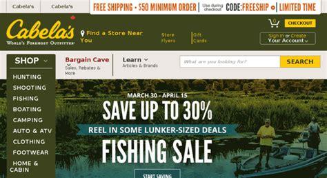 Cabelas Com Website