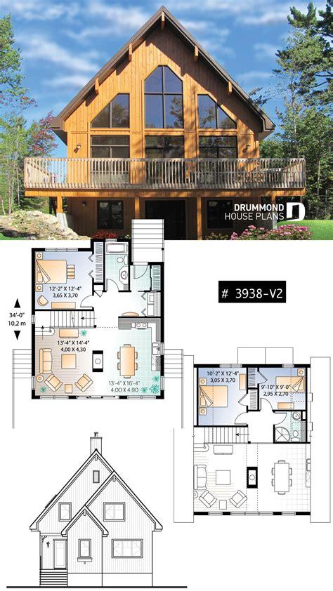 Cabin plans loft basement Image
