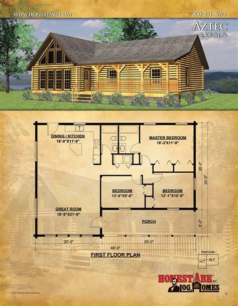 Cabin plans log Image