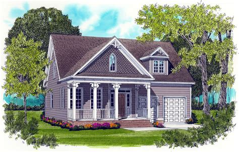 Cabin plans with covered porch Image