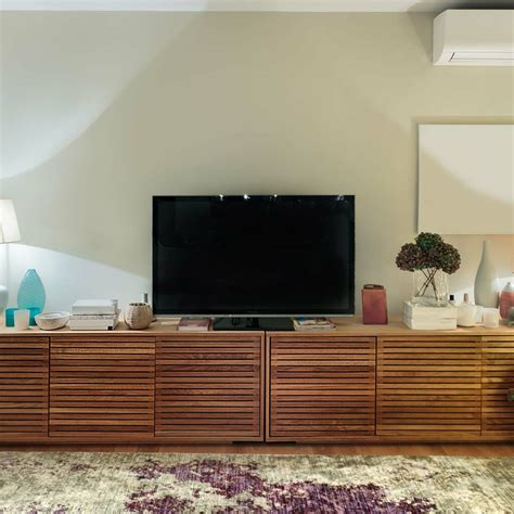 Cabinet design with tv Image