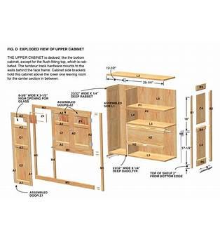 Cabinet Frame Plans