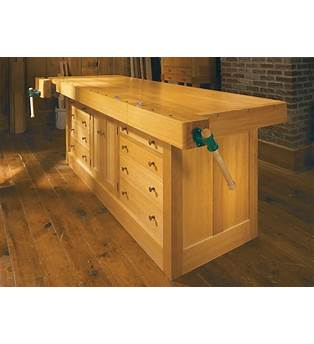Cabinet Style Workbench Plans