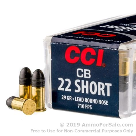 Cal 22 Short Ammo