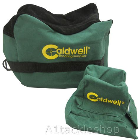 Caldwell Shooting Supplies Deadshot Shooting Bags Filled Deadshot Boxed Combo Front Rear Bag