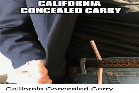 California Concealed Carry Handguns