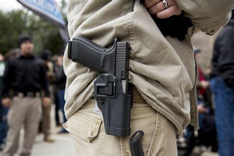 California Handgun Open Carry Laws