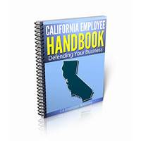 California employee handbooks work or scam?