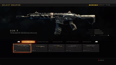 Call Of Duty 4 Assault Rifles