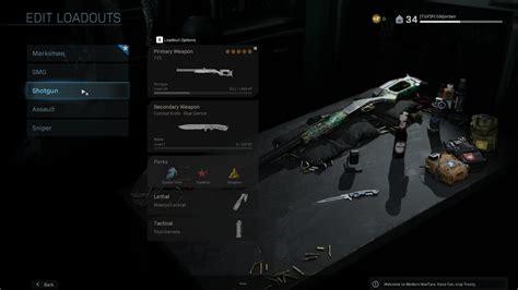 Call Of Duty 4 Best Shotgun Class