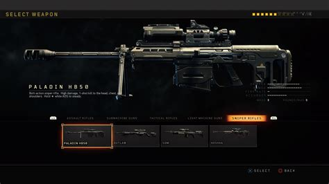 Call Of Duty Black Ops 4 Best Sniper Rifle