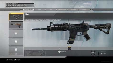 Call Of Duty Infinite Warfare All Assault Rifles