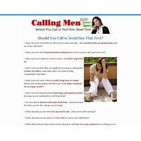 Buy calling men: the complete guide to calling, emailing, and texting men