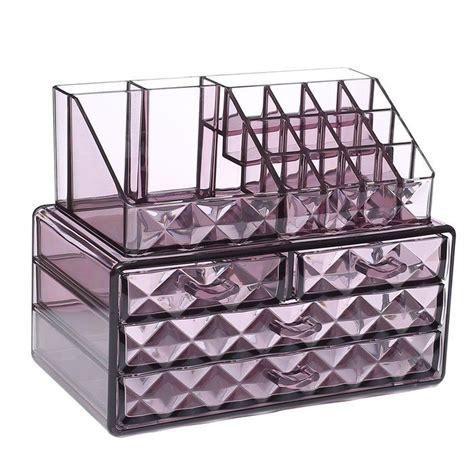 Caloundra Diamond Pattern Display Cosmetic Organizer
