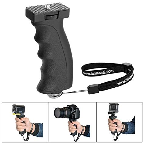 Camera Pistol Grip With Accessory Mounts