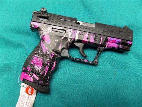 Camo 22 Handgun