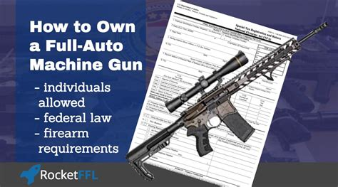 Can Gun Stores Own A Fully Automatic Machine