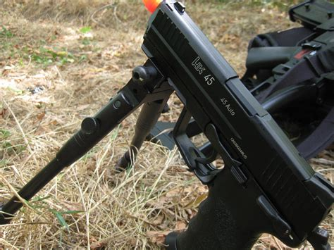 Can I Attach I Bipod To A Pistol