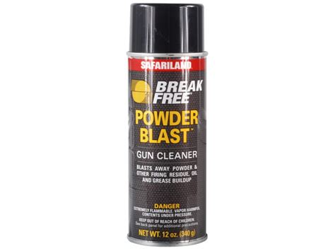 Can I Clean My Pistol Bore With Breakfree Powder Blast