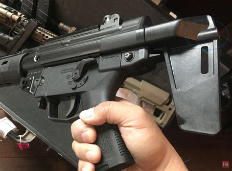 Can You Convert A Magpul Stock To A Pistol Brace And Cargadores G36 Magpul