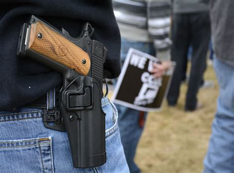 Can You Open Carry A Loaded Handgun In Louisiana