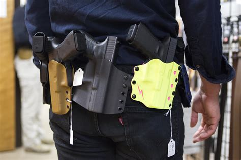 Can You Open Carry In A Gun Store