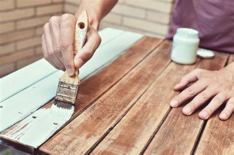 Can stained wood be painted Image