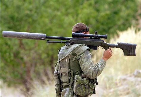 Canadian 50 Sniper Rifle
