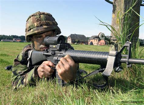 Canadian Diemaco Assault Rifles