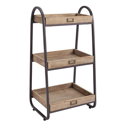 "Candide 17.25"" W x 32.5"" H Bathroom Shelf"