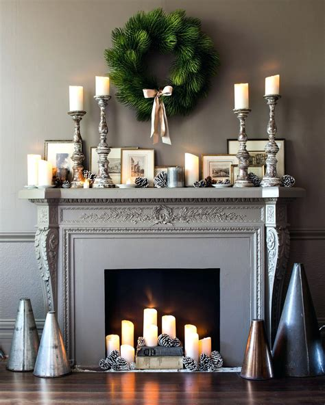 Candles In Fireplace Interiors Inside Ideas Interiors design about Everything [magnanprojects.com]