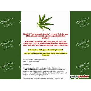 Cannabis coach? easy quit marijuana addiction audio program experience
