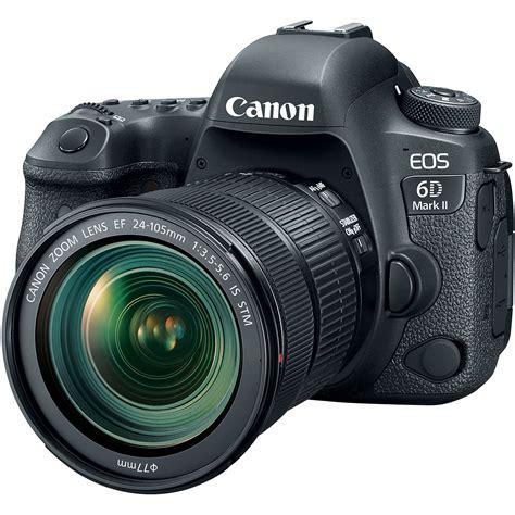 Canon EOS 6D Mark II DSLR Camera With 24-105mm F 4L II