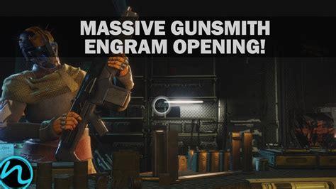 Cant Collect Gunsmith Engram Destiny 2 Oc