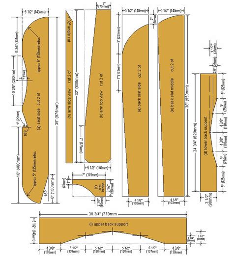 Cape cod chair design plans Image