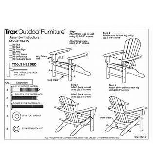 Cape Cod Deck Chair Plans
