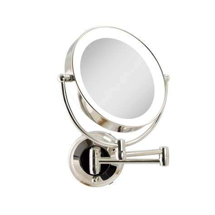 Capri Dual LED Lighted Wall Mirror