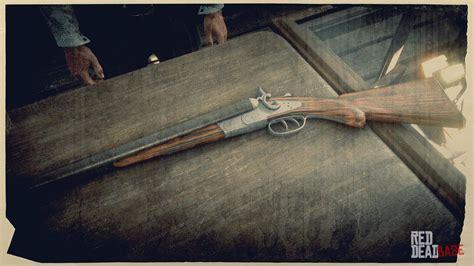 Carbine Repeater Or Double Barrel Shotgun Red Dead Redemption 2