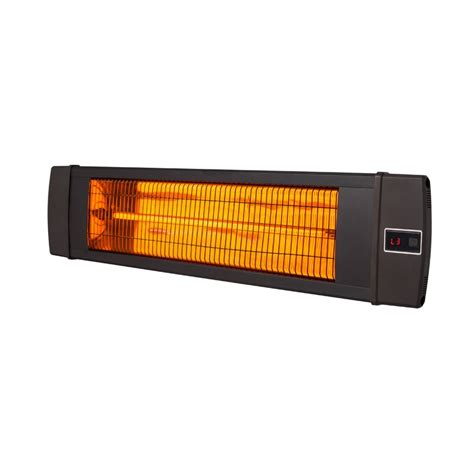 Carbon Infrared 1500 Watt Electric Mounted Patio Heater
