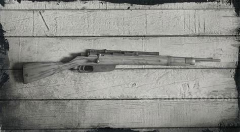 Carcano Sniper Rifle Red Dead Redemption And Custom 3006 Sniper Rifle