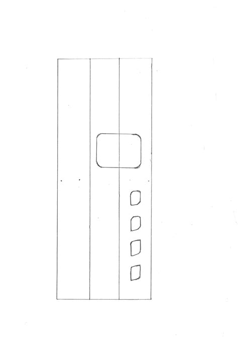 Cardboard Glock 19 Template