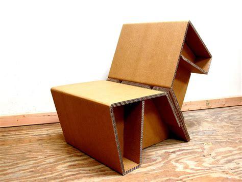 Cardboard chair Image